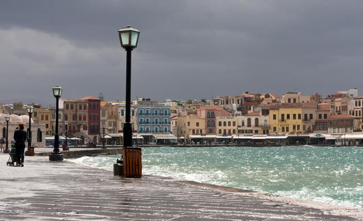Hanian vanhan kaupungin satama-alue