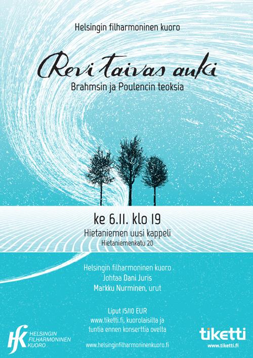 Revi taivas auki Helsingin filharmoninen kuoro