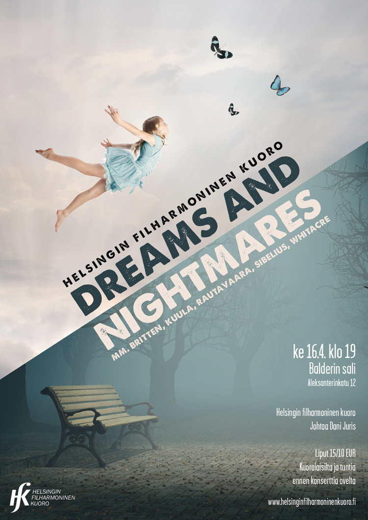 HFK Dreams and Nightmares concert poster